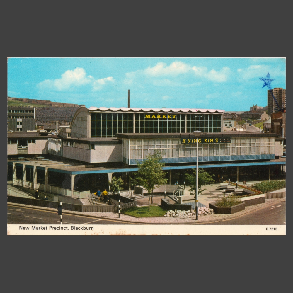 Postcard – New Market Precinct, Blackburn
