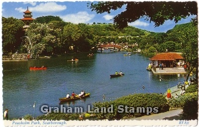 Postcard - Peasholm Park, Scarborough