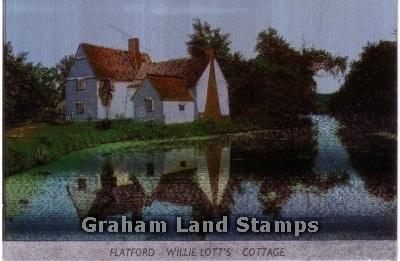 Postcard - Willie Lott's Cottage, Flatford