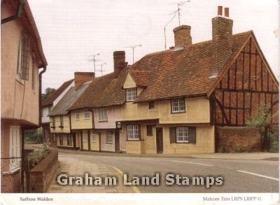 Postcard - Saffron Walden