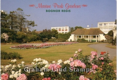 Postcard - Marine Park Gardens, Bognor Regis
