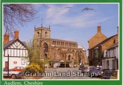 Postcard - Audlem, Cheshire