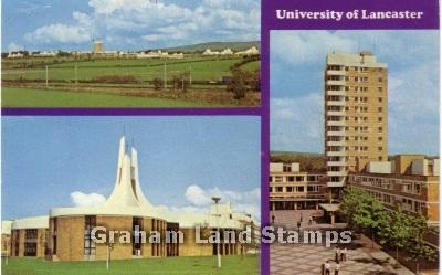 Postcard - University of Lancaster