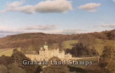 Postcard - Leighton Hall, Lancashire
