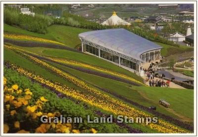 Postcard - Garden Festival Wales, Ebbw Vale