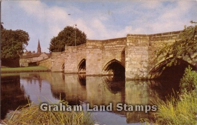 Postcard - The River Wye at Bakewell