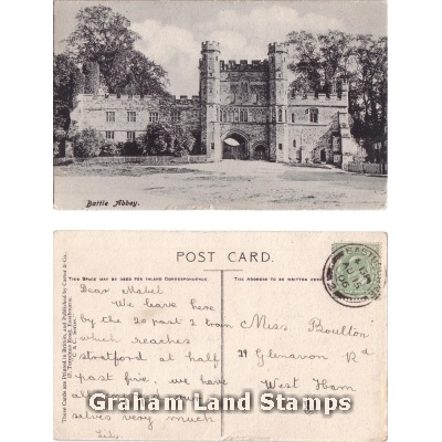 Postcard - Battle Abbey
