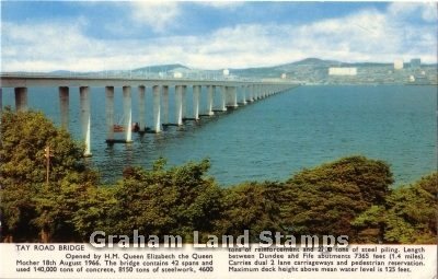 Postcard - Tay Road Bridge
