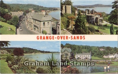 Postcard - Grange-over-Sands Multiview