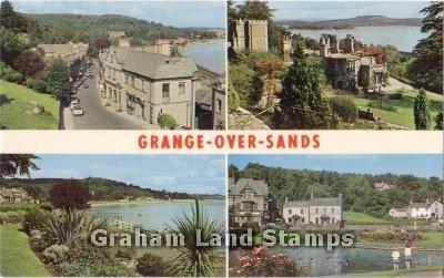 Postcard - Grange-over-Sands Multiview