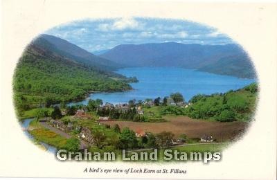 Postcard - Loch Earn at St Fillans
