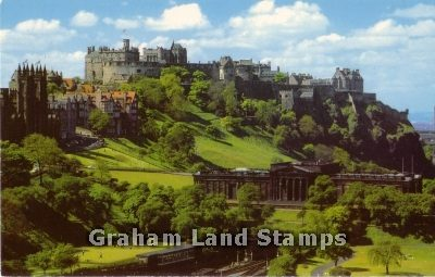 Postcard - Edinburgh Castle