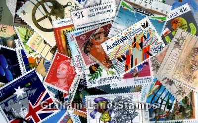 Australia - 100 Different Used Stamps - Lot 2