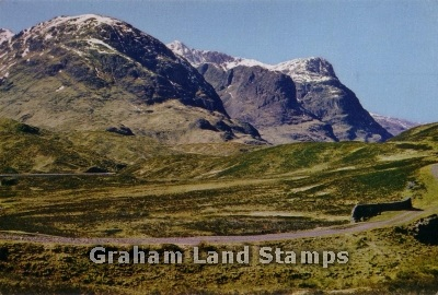 Postcard - The Three Sisters, Glencoe