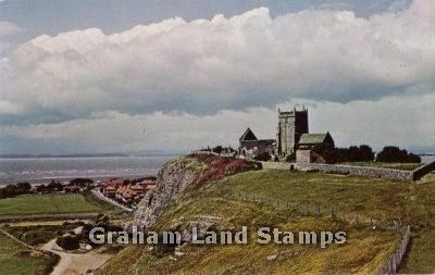Postcard - St Nicholas Church, Uphill, Weston-super-Mare