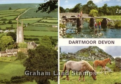 Postcard - Dartmoor Multiview
