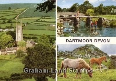 Postcard - Dartmoor Multiview