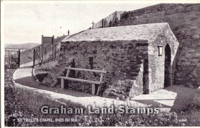 Postcard - St Trillo's Chapel, Rhos-on-Sea