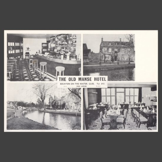 Postcard - The Old Manse Hotel, Bourton-on-the-Water