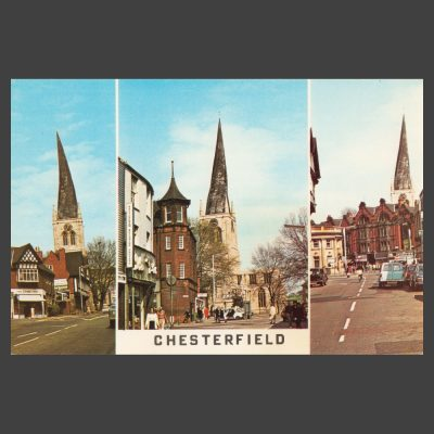 Postcard - Chesterfield Multiview