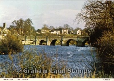 Postcard - The Bridge, Wetherby