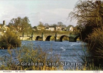 Postcard - The Bridge, Wetherby