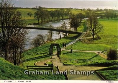 Postcard - Score Bank, Wetherby