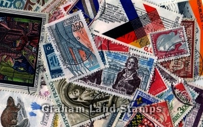 France - 50 Different Used Stamps - Lot 3