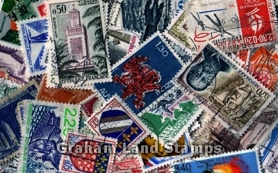 France - 50 Different Used Stamps - Lot 4