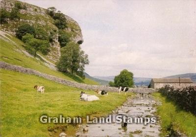 Postcard - Kilnsey Crag, Wharfedale, Yorkshire