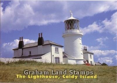 Postcard - The Lighthouse, Caldy Island