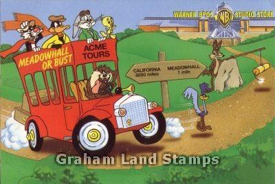 Advertising Postcard - Warner Bros Store, Meadowhall