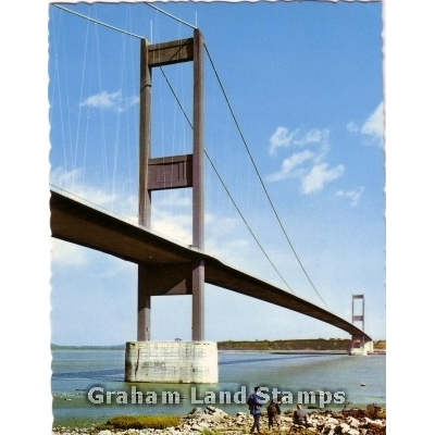 Postcard - Severn Bridge, Gloucestershire