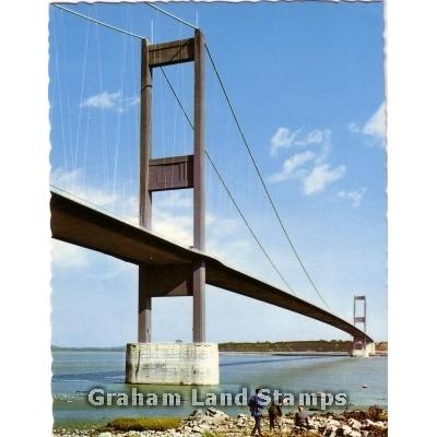 Postcard - Severn Bridge, Gloucestershire