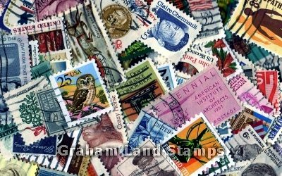 United States - 100 Different Used Stamps - Lot 2