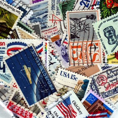 United States - 100 Different Used Stamps - Lot 3