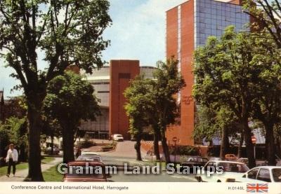 Postcard - Conference Centre and International Hotel, Harrogate