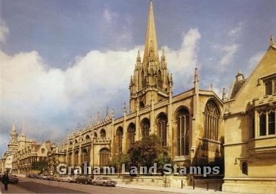 Postcard - University Church of St Mary the Virgin, Oxford