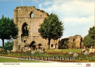 Postcard - Knaresborough Castle