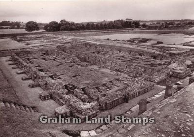 Postcard - Corstopitum Roman Site, Corbridge, Northumberland