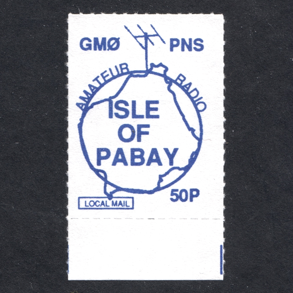 Pabay 1992 Amateur Radio Station (50p)