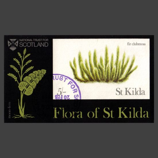 St Kilda 1969 Moon Fern and Fir Clubmoss (5s MS)