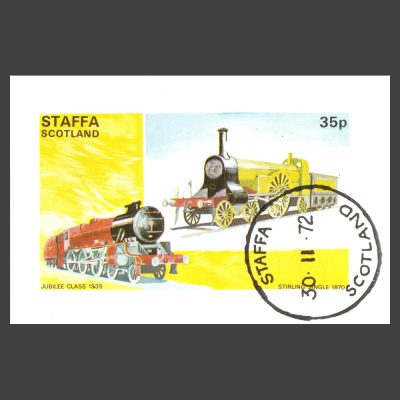 Staffa 1972 Trains Sheetlet (35p)