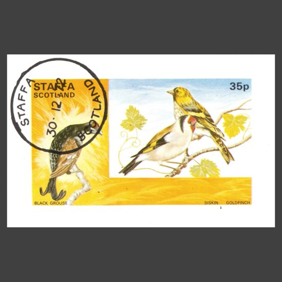Staffa 1972 Birds Sheetlet (35p, CTO)