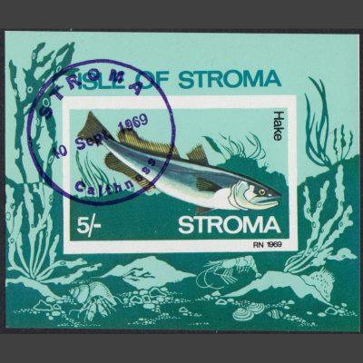 Stroma 1969 Hake Sheetlet (5s)