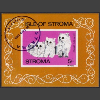 Stroma 1969 Cats Sheetlet (5s)