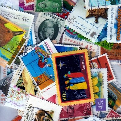 Australia – 100 Different Used Stamps – Lot 4