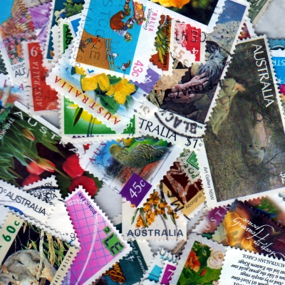 Australia - 100 Different Used Stamps - Lot 5
