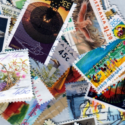 Australia - 100 Different Used Stamps - Lot 6