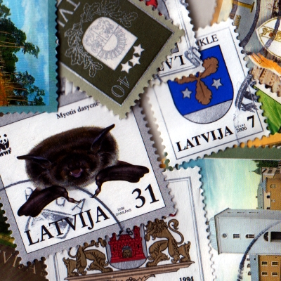 Latvia - Collection of 25 Different Used Stamps